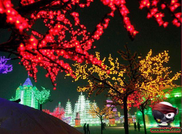 المدينة الثلجية الصين