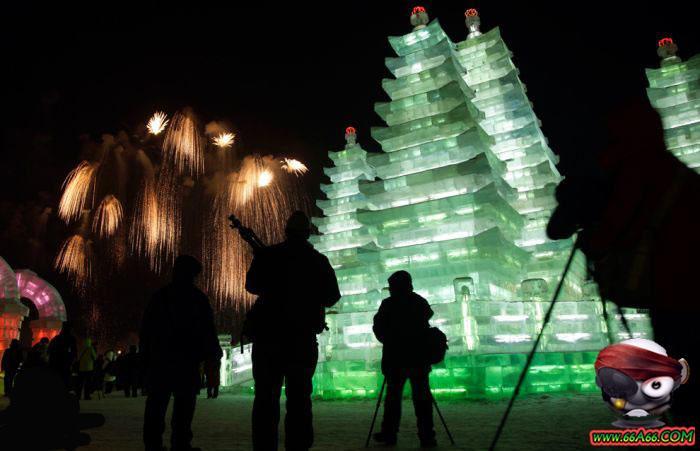   ~المدينة الثلجية بالصين~  