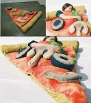 سرير البيتزا