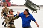 رجال الشرطة شبه العسكرية المشاركة في التدريبات